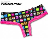 Shorty Sunset Touch'me - Vente en ligne de boxer, string, tanga, shorty, lingerie originale Snatch, Waxx,Chiky underwear