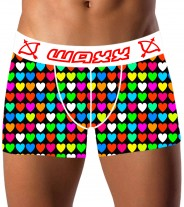 Boxer color of love waxx underwear - Vente en ligne de boxer, string, tanga, shorty, lingerie originale Snatch, Waxx,Chiky underwear