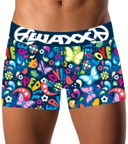 Boxer peace and love waxx underwear - Vente en ligne de boxer, string, tanga, shorty, lingerie originale Snatch, Waxx,Chiky underwear