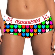 shorty color of love waxx underwear - Vente en ligne de boxer, string, tanga, shorty, lingerie originale Snatch, Waxx,Chiky underwear